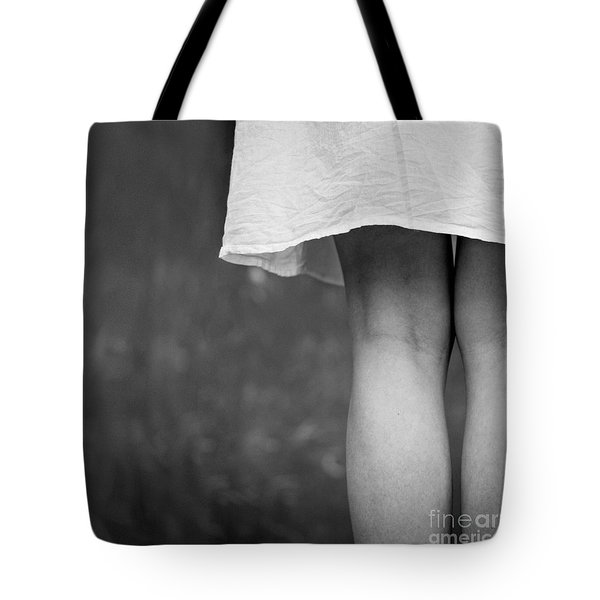 White Shirt Tote Bag