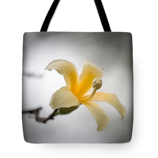 White Silk Floss 3 Tote Bag