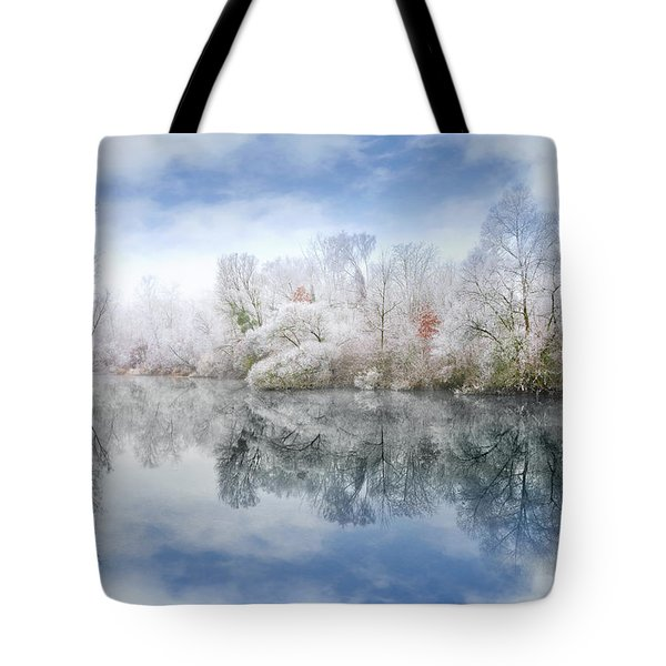 White Space Tote Bag
