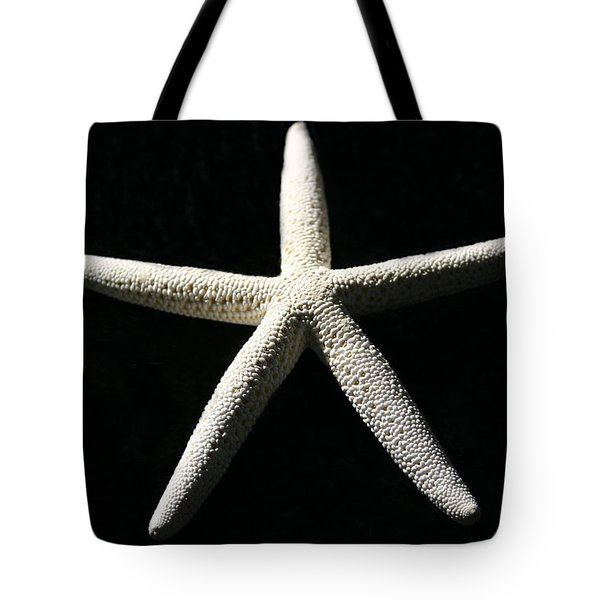 White Star Tote Bag by Mary Haber