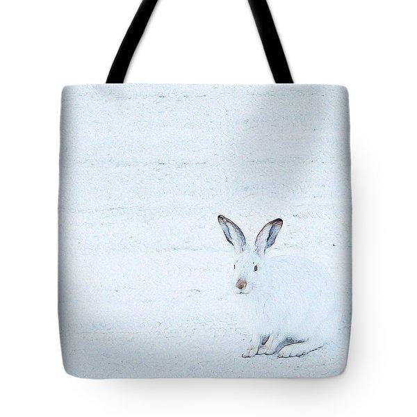 White-tailed Jack Rabbit  Tote Bag