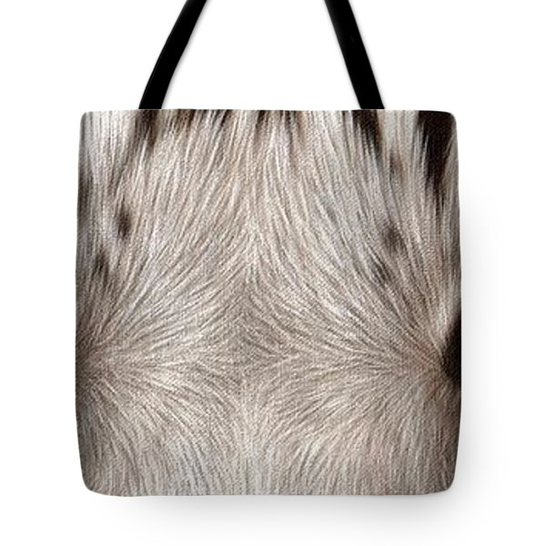 White Tiger Eyes Tote Bag
