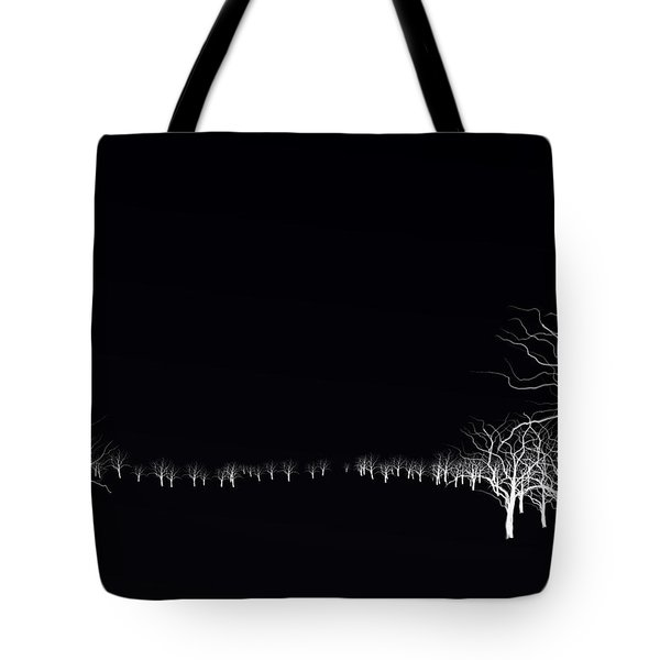 White Tree Tote Bag