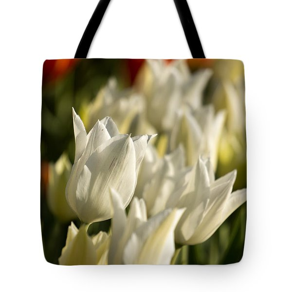 White Triumphator Tote Bag