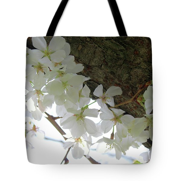 Dogwood Branch Tote Bag
