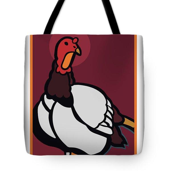 Ghost Turkey Tote Bag