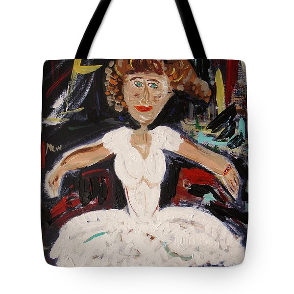White Tutu Tote Bag