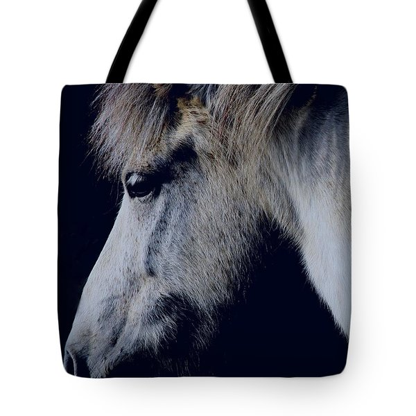 White Viking  Tote Bag