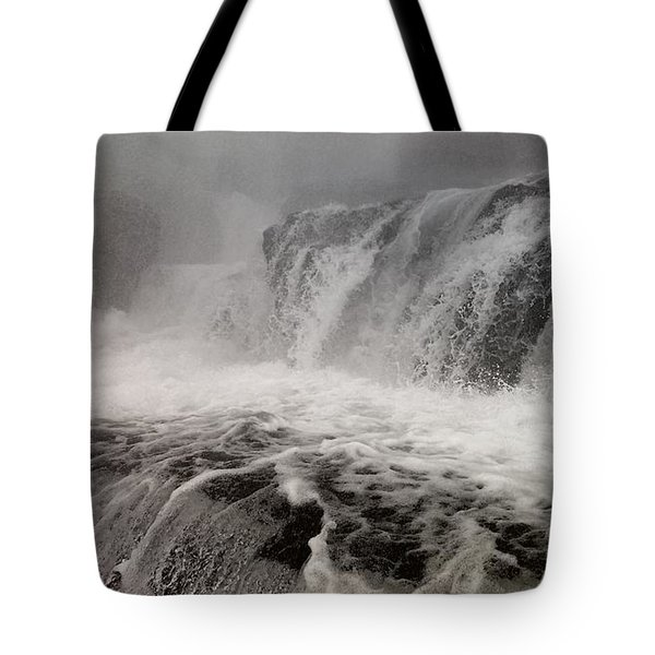 Tote Bag featuring the photograph White Water by Raymond Earley