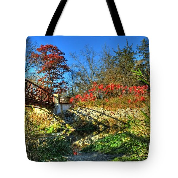 White Water State Park 2 Tote Bag
