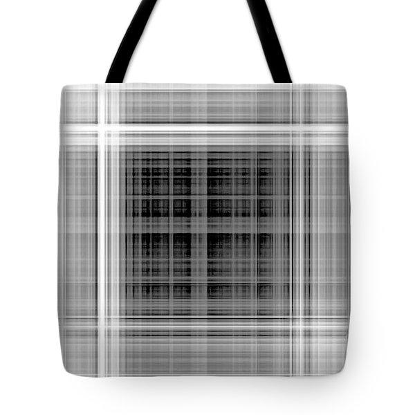 White Windows Tote Bag
