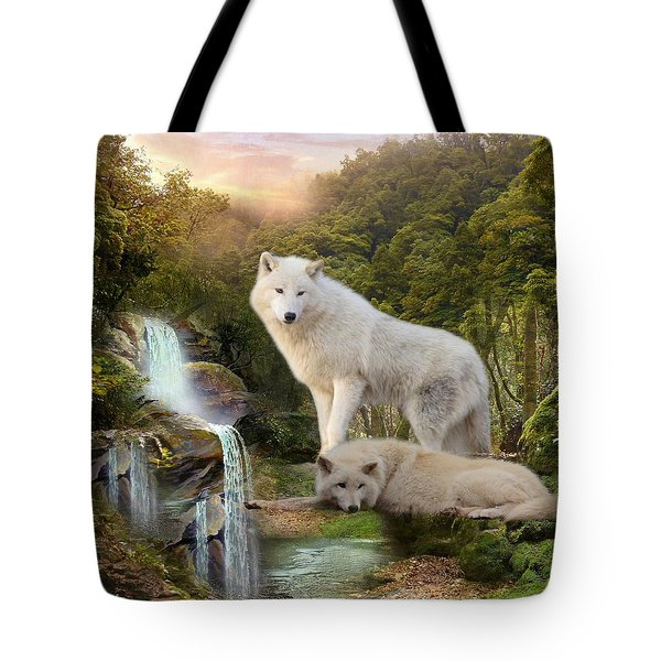 White Wolf Falls2 Tote Bag