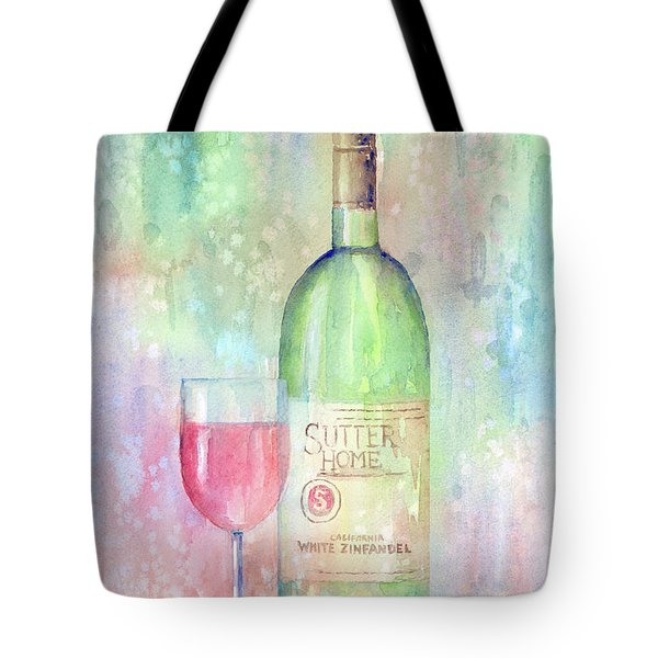 White Zinfandel Tote Bag by Arline Wagner