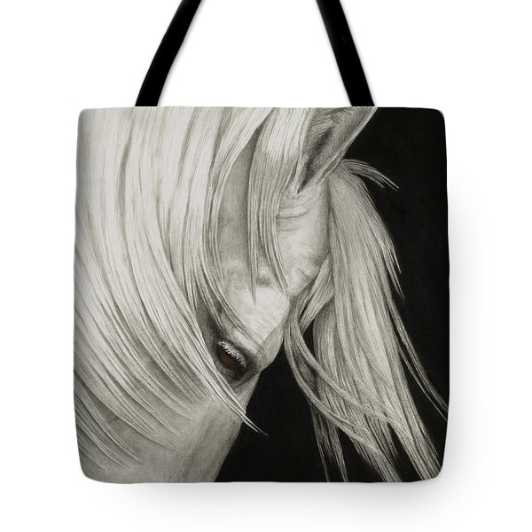 Whitefall Tote Bag