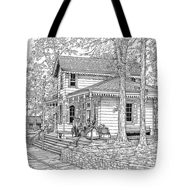 Whitehall Station Bryn Mawr Pennsylvania Tote Bag