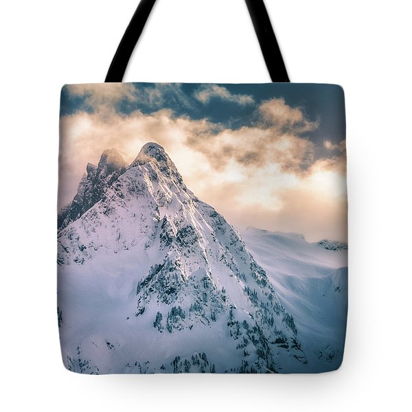 Whitehorse Clouds Tote Bag