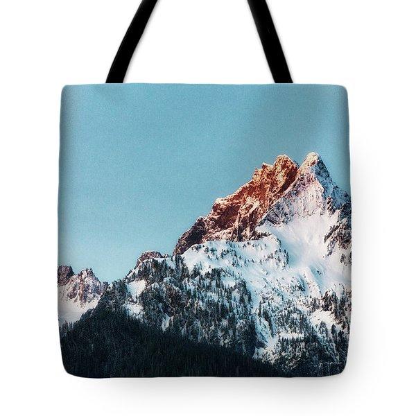 Whitehorse Sunrise Tote Bag