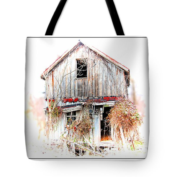 Whiteout In Opequon Tote Bag