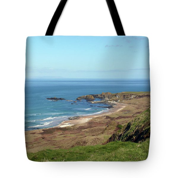 Tote Bag featuring the photograph Whitepark Bay by Colin Clarke