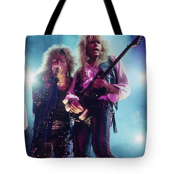 Whitesnake Tote Bag