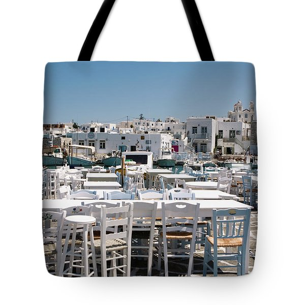 Whitewashed Naoussa Tote Bag