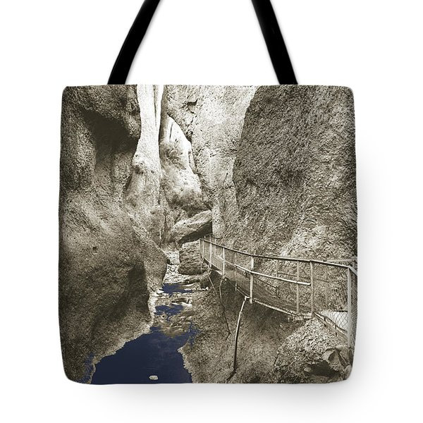 Whitewater Blu Tote Bag