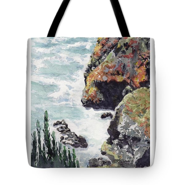 Whitewater Coast Tote Bag