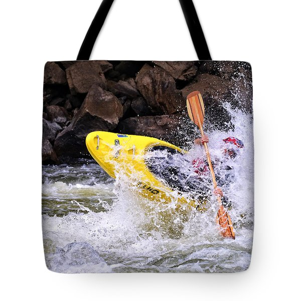 Whitewater On The New River Tote Bag