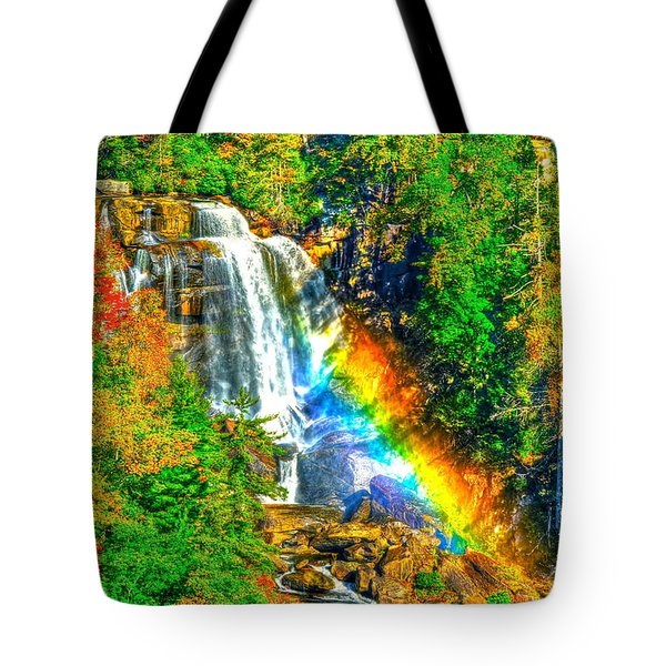 Whitewater Rainbow Tote Bag