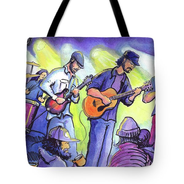 Whitewater Ramble At The Barkley Ballroom Tote Bag by David Sockrider