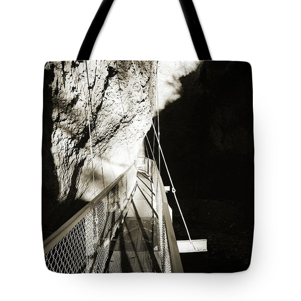 Whitewater Walk Tote Bag