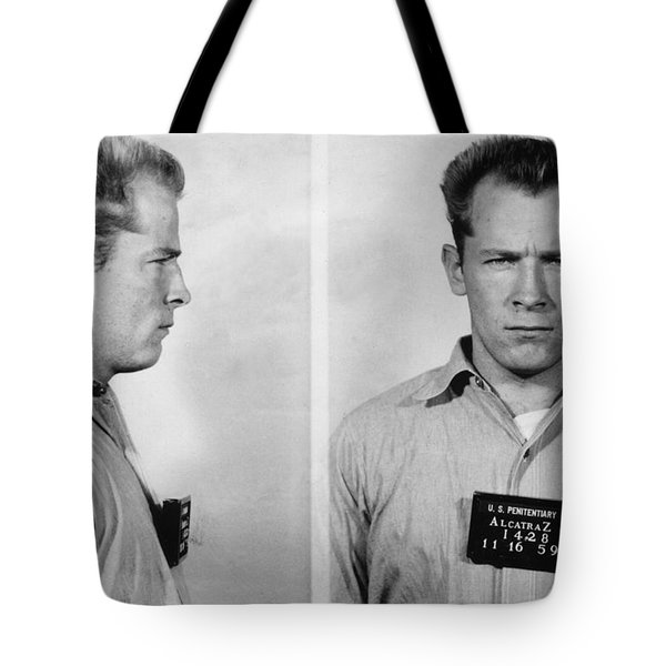 Whitey Bulger Mug Shot Tote Bag by Edward Fielding