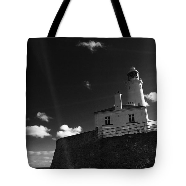 St.mary's Lighthouse - Whitley Bay Tote Bag