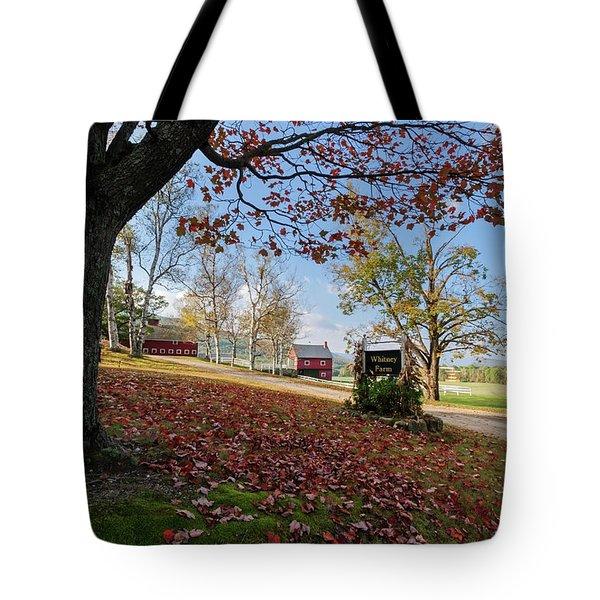 Whitney Farm Tote Bag by Brett Pelletier