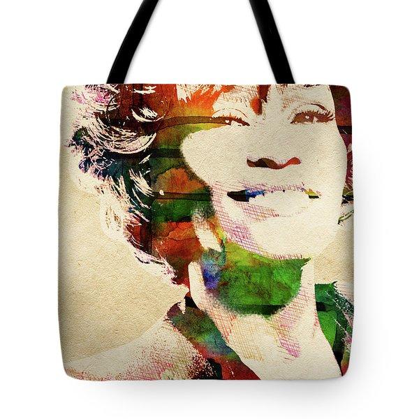 Whitney Houston Tote Bag