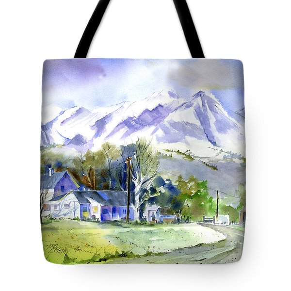 Whitney's White House Ranch Tote Bag