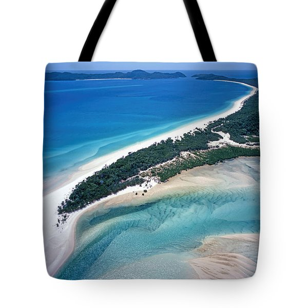 Tote Bag featuring the photograph Whitsunday Islands by Juergen Held