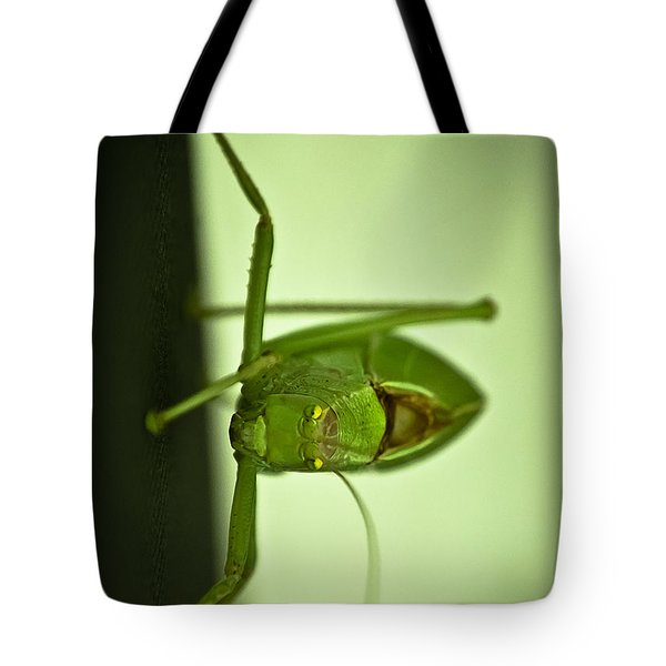 Who Are You Eyeballin' Tote Bag by DigiArt Diaries by Vicky B Fuller