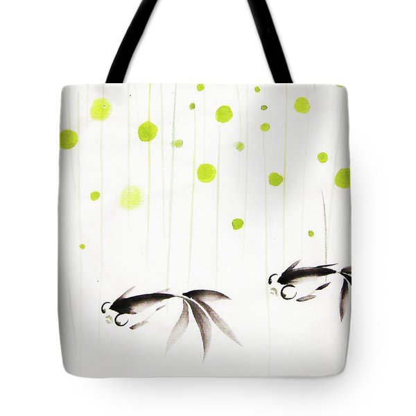 Who Cares About The Storm Above Tote Bag