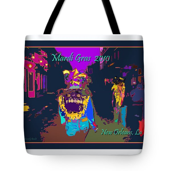 Who Dat At Night In The Quarter Tote Bag