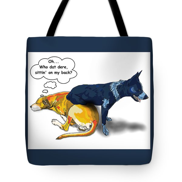 Who Dat Dere Tote Bag