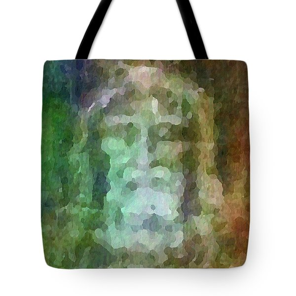 Who Do Men Say That I Am - The Shroud Tote Bag