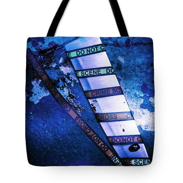 Who Done It Murder Mystery Tote Bag