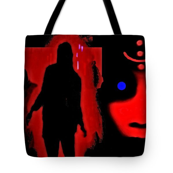 Who  Goes  There ? Tote Bag