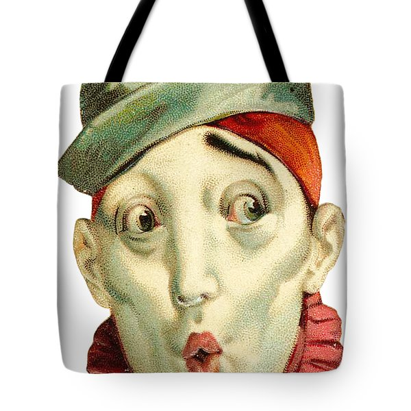 Tote Bag featuring the digital art Who Me? by ReInVintaged