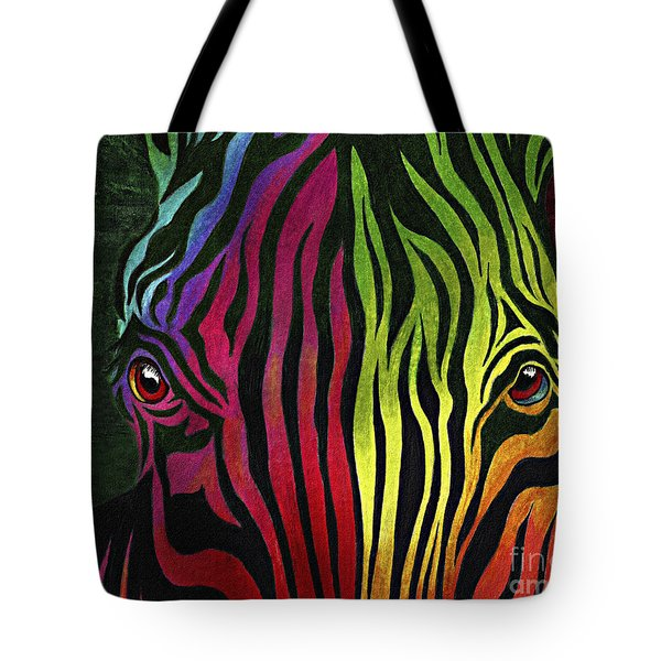 Tote Bag featuring the painting What Are You Looking At by Peter Piatt