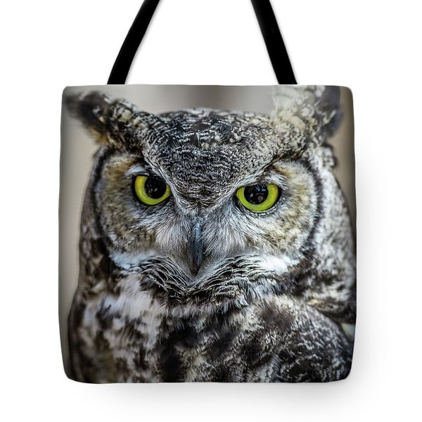 Tote Bag featuring the photograph Who by Phil Abrams