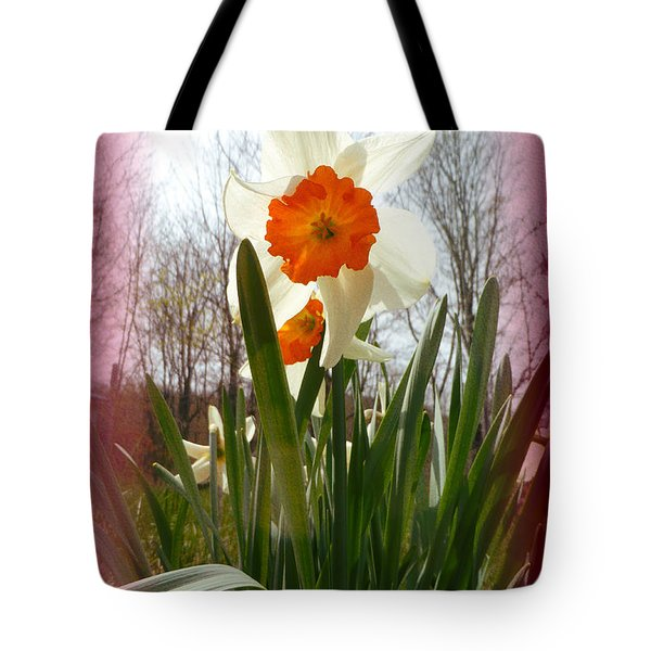 Who Planted Those Flowers Tote Bag