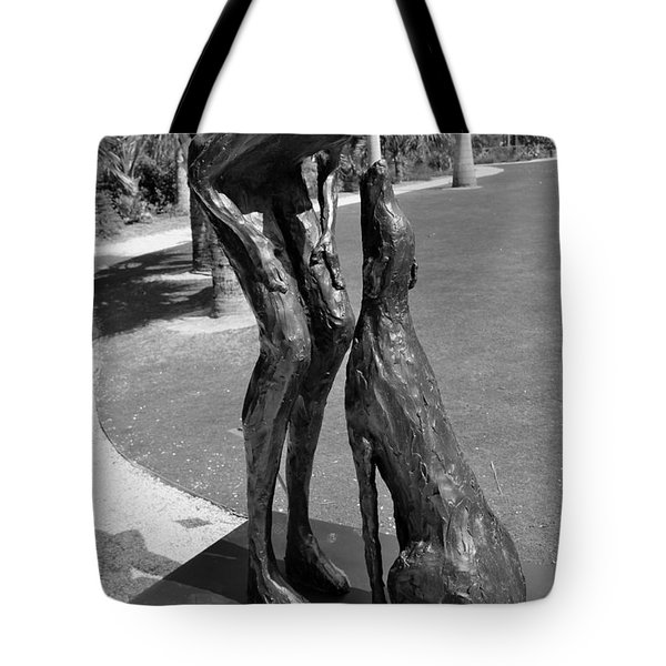 Who Rescued Who - Lorri Acott Tote Bag by Michiale Schneider