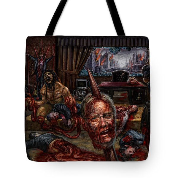 Who Rules Tote Bag by Tony Koehl